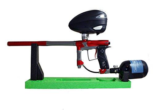 Paintball Gun (Paintball Markiererständer Paintstar Marker Stand (verschiedene Farben) (lime/black))
