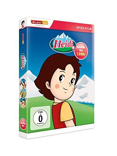 Heidi - Die Heidi-Spielfilm-Edition [3 DVDs]