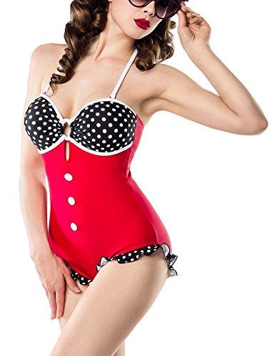 sexy-vintage-badeanzug-retro-look-muster-schwarz-wei-rot-pin-up-rockabilly-50s-farberot-schwarz-weig