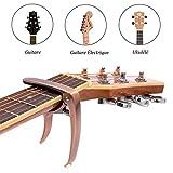 yakamoz alliage Capo Cejilla de guitarra Sunluxy Mall de Universel pour Folk Guitarra, Guitare Electrique et acústica