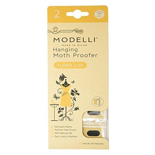 modelli à suspendre Moth Proofer Flora Lux – Offre une protection pour jusqu'à 3 mois