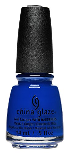 China Glaze Nail Lack mit hardeners, 14 ml, einfach fa-blue-less (China Glaze-farben)