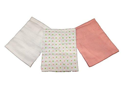 White, 18 Pack MuslinZ Premium High Quality 100/% Cotton Unisex Baby Muslin Squares 70x70cms