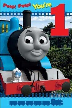 Thomas Il motore di Età 1 Carta Compleanno serbatoio