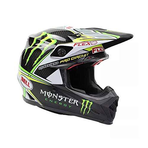 BELL caschi MX 2017moto-9Flex Adult casco, Pro Circuit Monster replica, misu