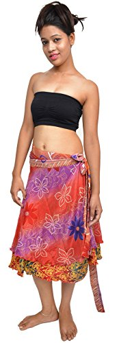 Dancers World Ltd (UK Seller) Damen Rock mehrfarbig Pack of 2 1 SKIRT LENGTH 24 INCH (61 CM)