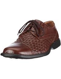 Josef Seibel Schuhfabrik GmbH Lionel 04 31367 952 260 - Zapatos de cordones de cuero para hombre, color marrón, talla 41