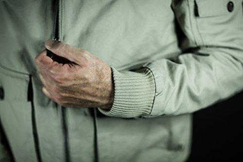 Jeff Green Outdoor da uomo giacca da Lisboa, Nero, 48, 1432BL nero