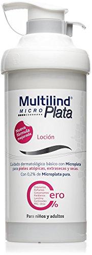 Multilind Microplata Loción - 500 ml. Alivio notable del picor, descamación, irritación y enrojecimiento de piel