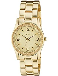 (CERTIFIED REFURBISHED) DKNY Analog Gold Dial Women's Watch - NY8308#CR