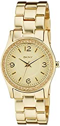 (CERTIFIED REFURBISHED) DKNY Analog Gold Dial Womens Watch - NY8308CR