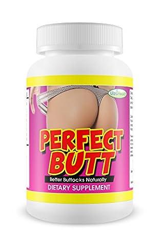 PerfectButt Nahrungsergänzungsmittel für sexy Kurven und Sanduhrformen, aus natürlichen Inhaltsstoffen