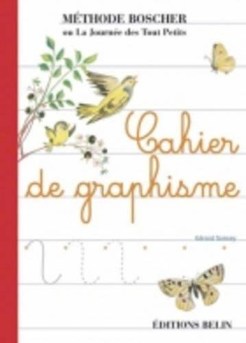 Boscher Cahier de graphisme