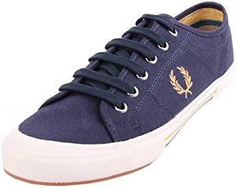 Fred Perry Vintage Tennis Canvas Carbon Blue