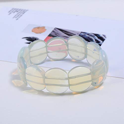 huahua Exquisite Handgemachte Katze-Auge Stein EIS Muskel Jade Knochen Stein Neue Kristall Armband Armband Schmuck Nationalen Wind Ornament Proteinfarbe