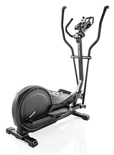 Kettler Unix 4 Magnetic Cross Trainer Black - Cross-Trainer (Magnetic Cross Trainer, 150 kg, Drive Disk/Ribbed Belt, Black, 39 cm, 19 cm)