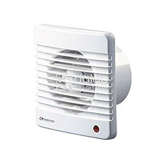 Aqua-Badshop Ventilator für Badezimmer - höhere Leistung - Durchmesser Ø150mm + Kugellager