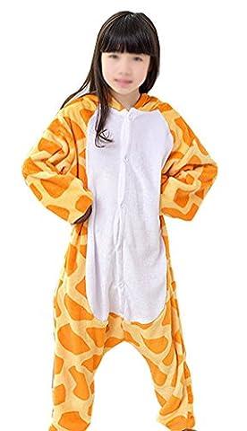 Arkind Unisexe Animaux Pyjama Enfant Combinaison Nuit pour Enfant Halloween Cosplay Costume Pyjama Cadeau Anniverssaire