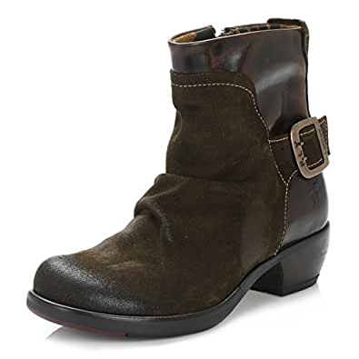 efec0e92 Fly London Womens Sludge & Dark Brown Mel Boots: Amazon.co.uk: Shoes ...