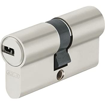 ABUS EC550 Profil-Doppelzylinder L/änge 30//50mm mit 5 Schl/üssel