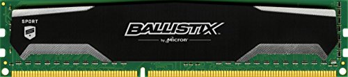 Single-channel-speicher (Ballistix Sport BLS8G3D1609DS1S00 8GB Speicher (DDR3, 1600 MT/s, PC3-12800, DIMM, 240-Pin))