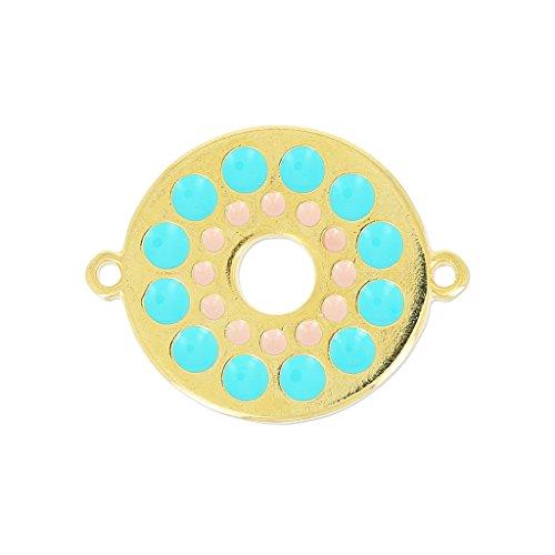 entrepieza-redonda-esmalte-epoxi-2-anillas-27-mm-turquesa-light-rosa-dorado-x1