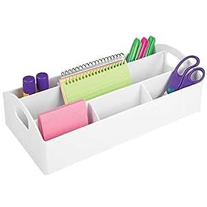 mdesign tragbarer b ro schreibtisch organizer f r stifte kugelschreiber haftnotizen. Black Bedroom Furniture Sets. Home Design Ideas