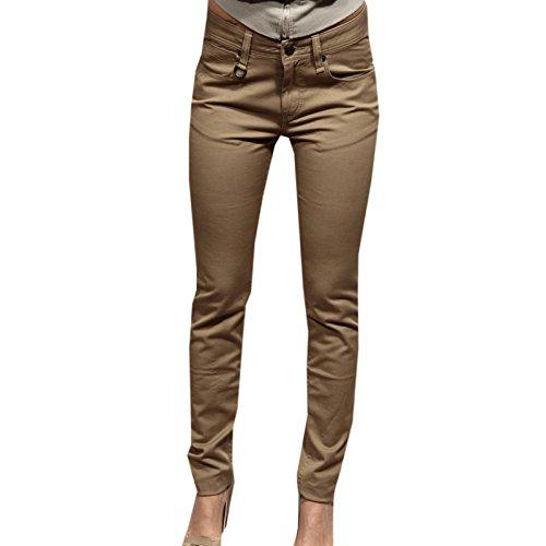 65733 pantaloni BURBERRY BRIT SKINNY pantalone donna trousers men [25]