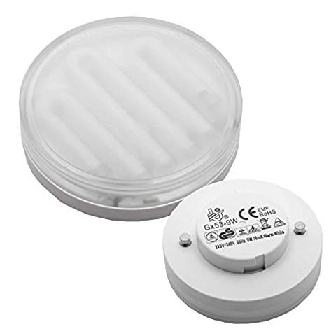 MLA GX53 - 9W Energy Saving Compact Fluorescent