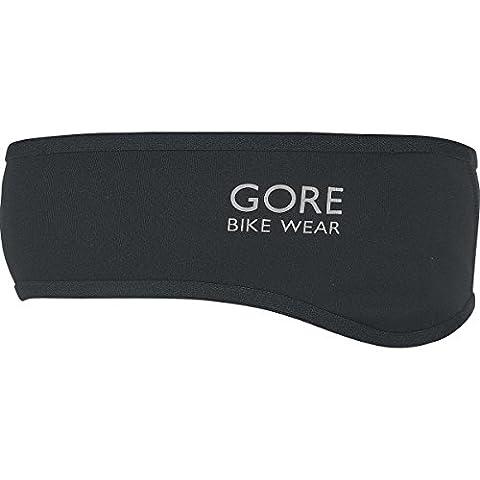 GORE BIKE WEAR Fahrrad-Stirnband, GORE WINDSTOPPER, UNIVERSAL Headband, Größe One, Neon Gelb/Schwarz, ABIKHT