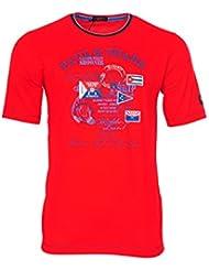 Paul & Shark Camiseta Multicolor Rojo XXL