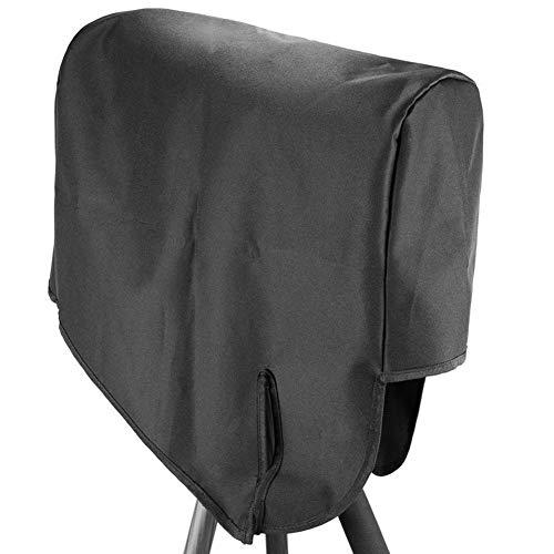 xiangpian183 wasserdichte Teleskoptaschen-Schutzhülle Schwarze Teleskoptaschen-Regenhülle mit UV-Schutz, 30 x 20 x 5 cm