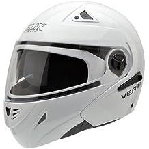 NZI 150202G423 Verti BTW Casco de Moto, Talla 55-56, Blanco