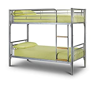 Happy Beds Atlas Bunk Bed Metal Mattresses Bedroom Kids Comfort Colours