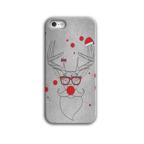 Rentier Rudolf Weihnachten Geek Urlaub iPhone 5 / 5S Hülle | Wellcoda (Geek Kostüme Ideen)