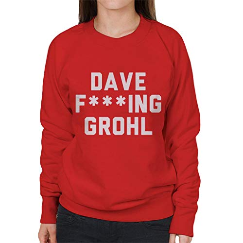 Coto7 dave fing grohl women's sweatshirt