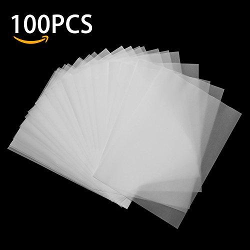 Transparentpapier DIN A4, Aodoor 100 Blatt Super Qualität Transparentpapier