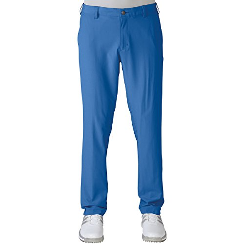 Adidas 2016 Ultimate Tapered Fit Léger Résistant A l'eau Hommes Pantalon De Golf Devant Plat Ray Blue