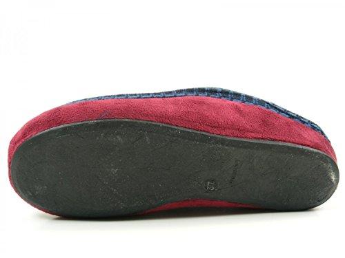 Manitu 330137 Pantofole Donna Blau