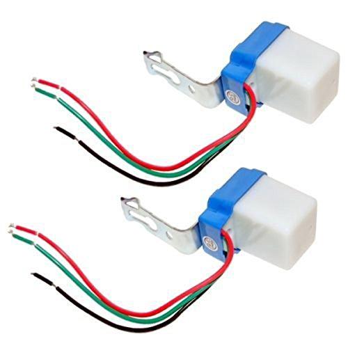 Mini interruttore crepuscolare sensore crepuscolare 12V 10A Outdoor luce notturna sensore interruttore per lampada LED Interruttore del sensore