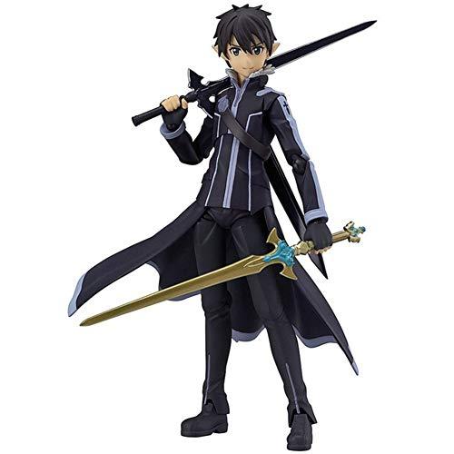 Figura de la personalidad de la personalidad de la personalidad de la personalidad de la personalidad de Altablus Anime SAO Sword Art Online Kirito de PVC, 15 cm