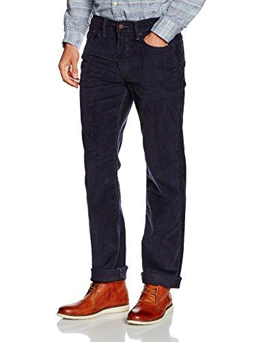 Levi's Herren 514 Regular Fit Straight Jeans, Nightwatch Blue 14w Cord Wt 0797, 36W / 32L -