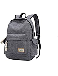 b16d57303a925 Yslin Damen Casual Leicht Laptoprucksack Mädchen Schultasche Jungs Backpack  Hohe Qualität Wasserfest Mode Freizeit Rucksack Herren…