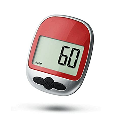 LCD Elektronischer Schrittzähler - WinCret Multifunktionale Groß Bildschirm Schritt / Entfernung / Kalorien Zähler Fitness Tracker Calorie Verbrauchen Recorder