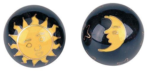 Boules Qi Gong–Soleil Et Lune Bleu