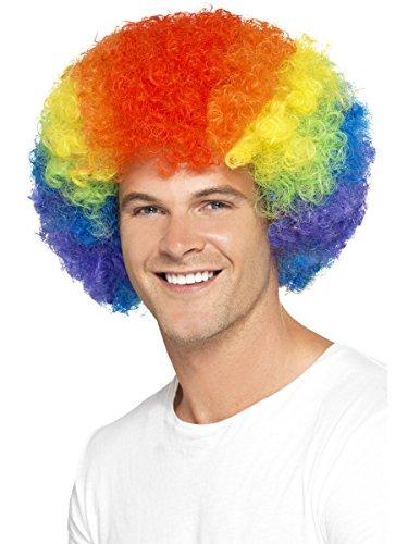 Wigs Peluca Colores diseño Orgullo Gay arcoíris