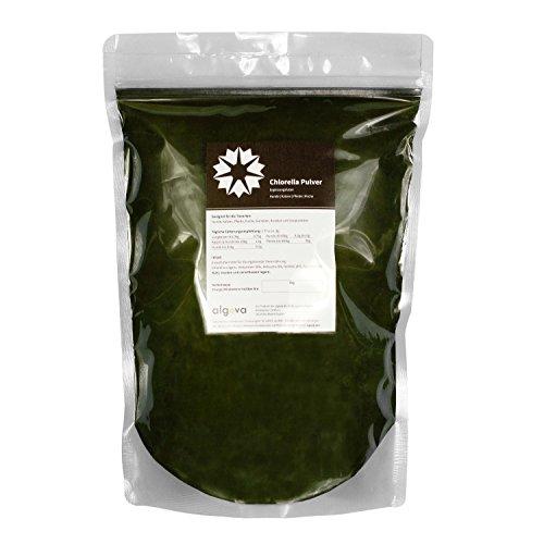 Chlorella Pulver Futter-Zusatz Pferd Hund Katze Garnelen algova® (2kg)