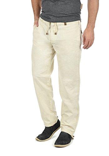 INDICODE Ives Leinenhose , Größe:M;Farbe:Fog (004)