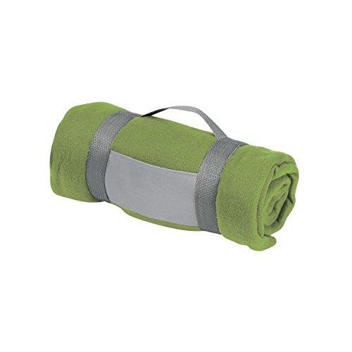 eBuyGB Luxuriöser Warmer Überwurf für Sofa, Bett, Festival, Camping, Picknick, Teppich, Pub, Bar, Outdoor, Sitzen, Limettengrün -