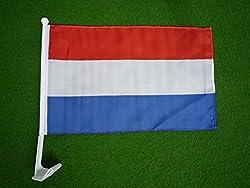 IDM Autofahne, Carflag, Holland, Oranje, Niederlande, Netherland